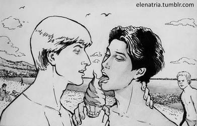 LawRusso: Ice Cream by ElenaTria