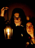 Snape+Hermione:into the forest by ElenaTria