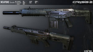 Crysis 2 Mk24 Grendel Assault Rifle By Scarlighter by RyanXboxOneXBlackXR1