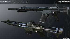 Crysis 2 Mk21 Scarab Carbine By Scarlighter D4taht by RyanXboxOneXBlackXR1