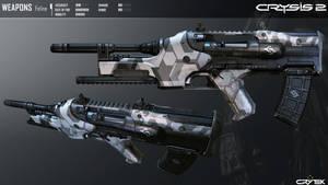 Crysis 2 Feline Sub Machine Gun By Scarlighter D4t by RyanXboxOneXBlackXR1