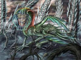 Swamp Dragon by OrmIrian