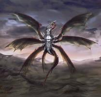 Armored Dragon by OrmIrian