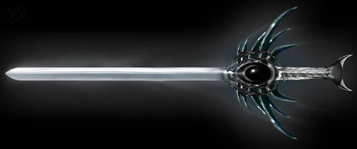 Crystal Sword by OrmIrian