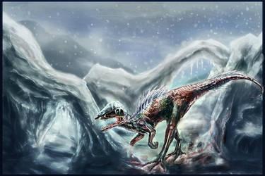 Zombie Dinosaur by OrmIrian