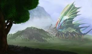 Giant Tree Devourer by OrmIrian