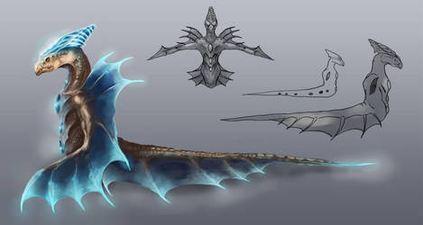 Watercreature Details by OrmIrian