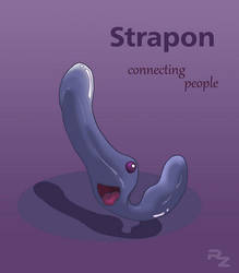 Strapon - connecting people by RedzillaArt