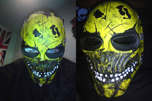 Army Of Two Paintball Mask by Owenicus