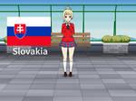 Kisakae Girls Around the World - Slovakia by Nemoleegreen343