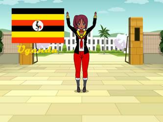 Kisakae Girls Around the World - Uganda by Nemoleegreen343