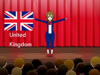 Kisakae Girls Around the World - United Kingdom by Nemoleegreen343