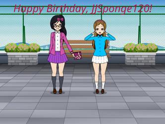 Happy (Early) Birthday, JJSponge120! by Nemoleegreen343