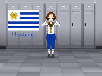 Kisakae Girls Around the World - Uruguay by Nemoleegreen343