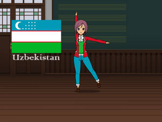 Kisakae Girls Around the World - Uzbekistan by Nemoleegreen343