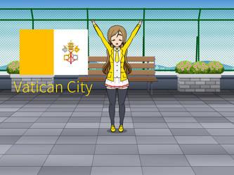 Kisakae Girls Around the World - Vatican City by Nemoleegreen343