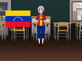 Kisakae Girls Around the World - Venezuela by Nemoleegreen343