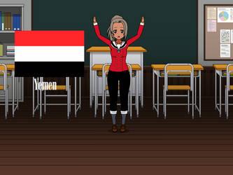 Kisakae Girls Around the World - Yemen by Nemoleegreen343