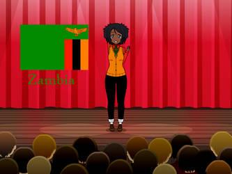Kisakae Girls Around the World - Zambia by Nemoleegreen343