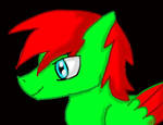 Chemical flare headshot by Ben-drowned-211