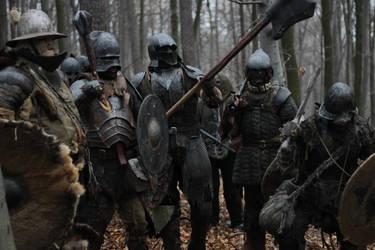 orc warriors by Gadyn