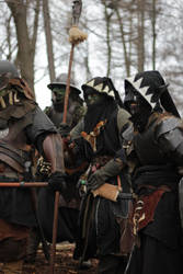 Goblin warriors by Gadyn