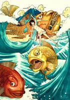 Roaring Ocean by scary-PANDA