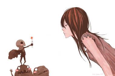 girl by scary-PANDA