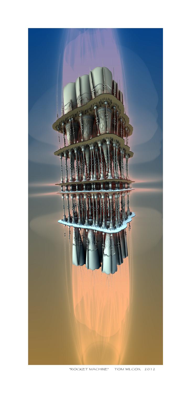 Rocket Machine by TomWilcox