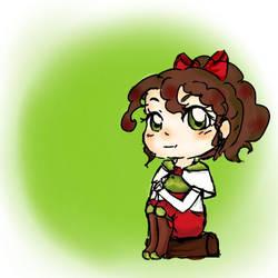 Chibi oc fire emblem by Momo-no-kuni