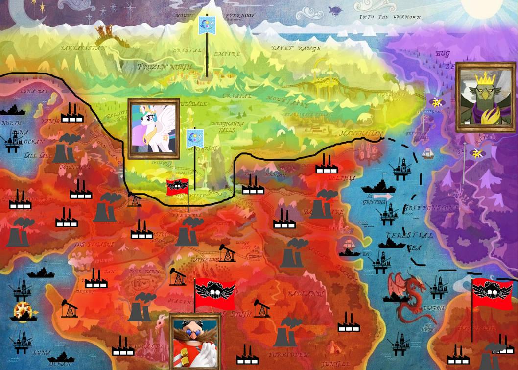 Eggman Equestria War Ceasefire By Trungtranhaitrung On Deviantart