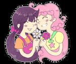 Violet and Daisy by GloamingCat