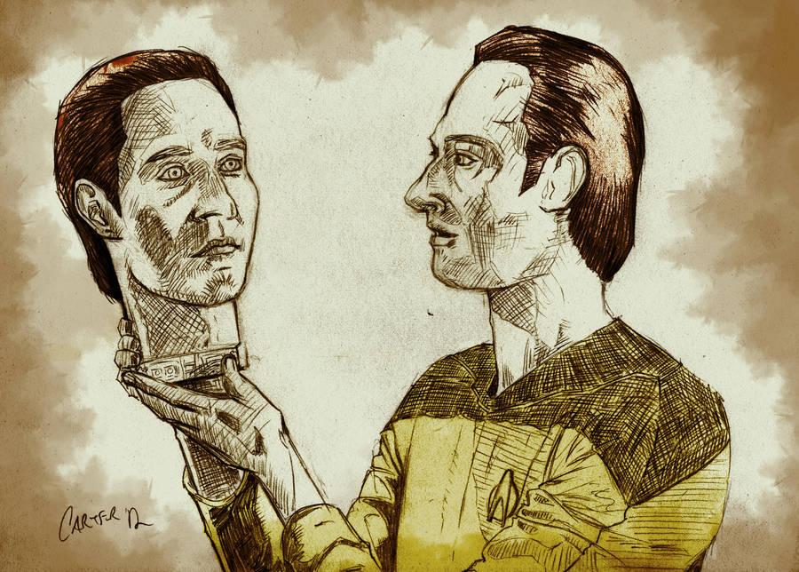 Datalore - Star Trek: The Next Generation by Coleman