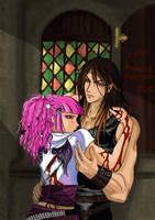 'Faust and Illy' FANART by Blackfiriel