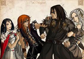 Darragh vs Faust by Blackfiriel