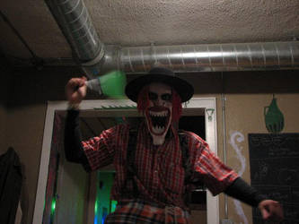 Halloween Clown by themissinglint