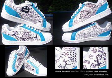 Custom Felzmade Sneakers by ItsmeJonas