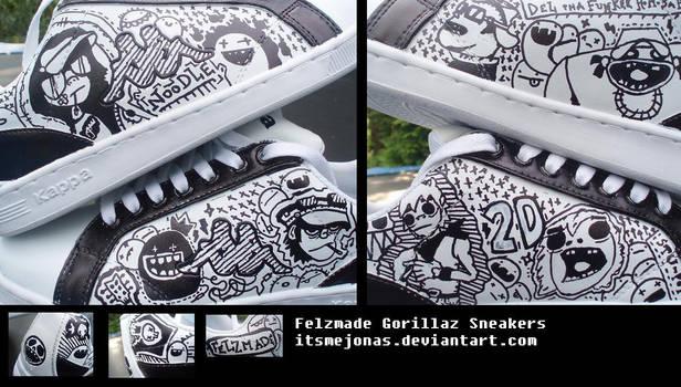Felzmade Gorillaz Sneakers by ItsmeJonas