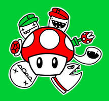 Felzmade Mushroom by ItsmeJonas