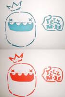 Felzmade King Stencil by ItsmeJonas