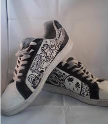 Mojo Jojo fun shoes by ItsmeJonas