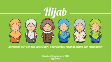 Hijab by syfArt