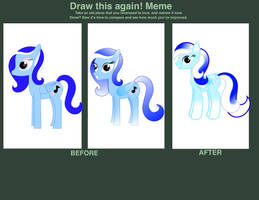 Draw This Again Meme by SilverSonglicious