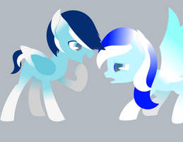 ~|Ice Twins|~ by SilverSonglicious