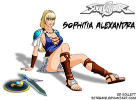 Sophitia - Soul Calibur 2 by Seterace