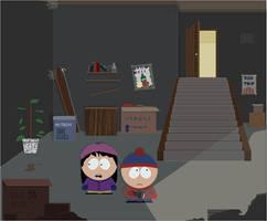 South Park Basement by KezART