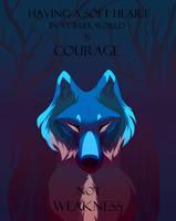 Courage by nakaiii