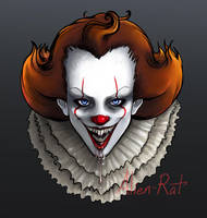 Pennywise Portrait by Alien-Rat
