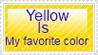 Yellow Stamp by RuukuxP