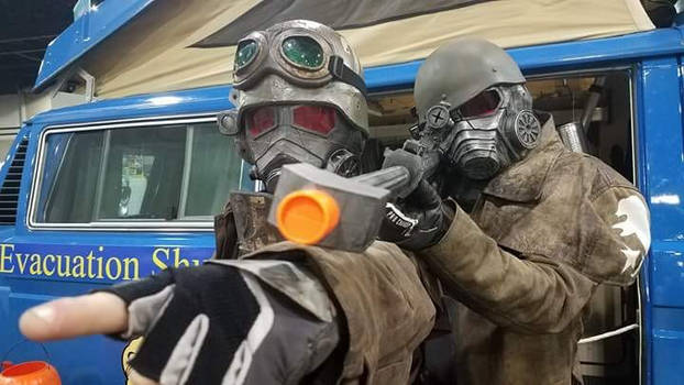 New Vegas NCR Ranger Cosplay by TwinSwords371